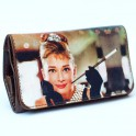 La Siesta - Audrey Hepburn / Imitation Leather Pouch