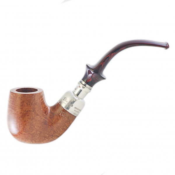 Peterson silver spigot x220s cumberland sybarite pipe for Golden fish pipe