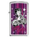 Zippo Betty Boop Stars & Stripes Motorbike