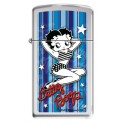 Zippo Betty Boop Stars & Stripes Blue